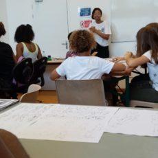 le cours de dessin avec Naomi